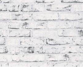 Tapeta 9078-37 Szara cegła