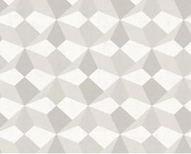 Tapeta 34133-1 Szare Graficzne Wzory