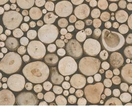 Tapeta 9583-61 Drewniane Pnie