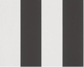 Tapeta 3342-13 Biało-Czarne Pasy
