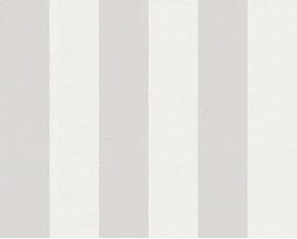 Tapeta 3140-31 Biało-Szare Pasy