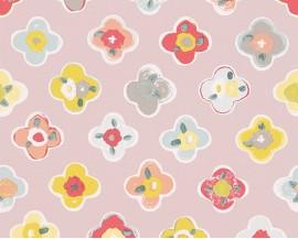 Tapeta Oilily 96122-3 Różowe Kwiatki