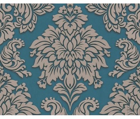 Tapeta 36898-5 Turkusowy Ornament